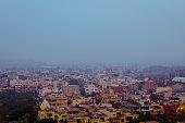 Aerial View New Delhi City