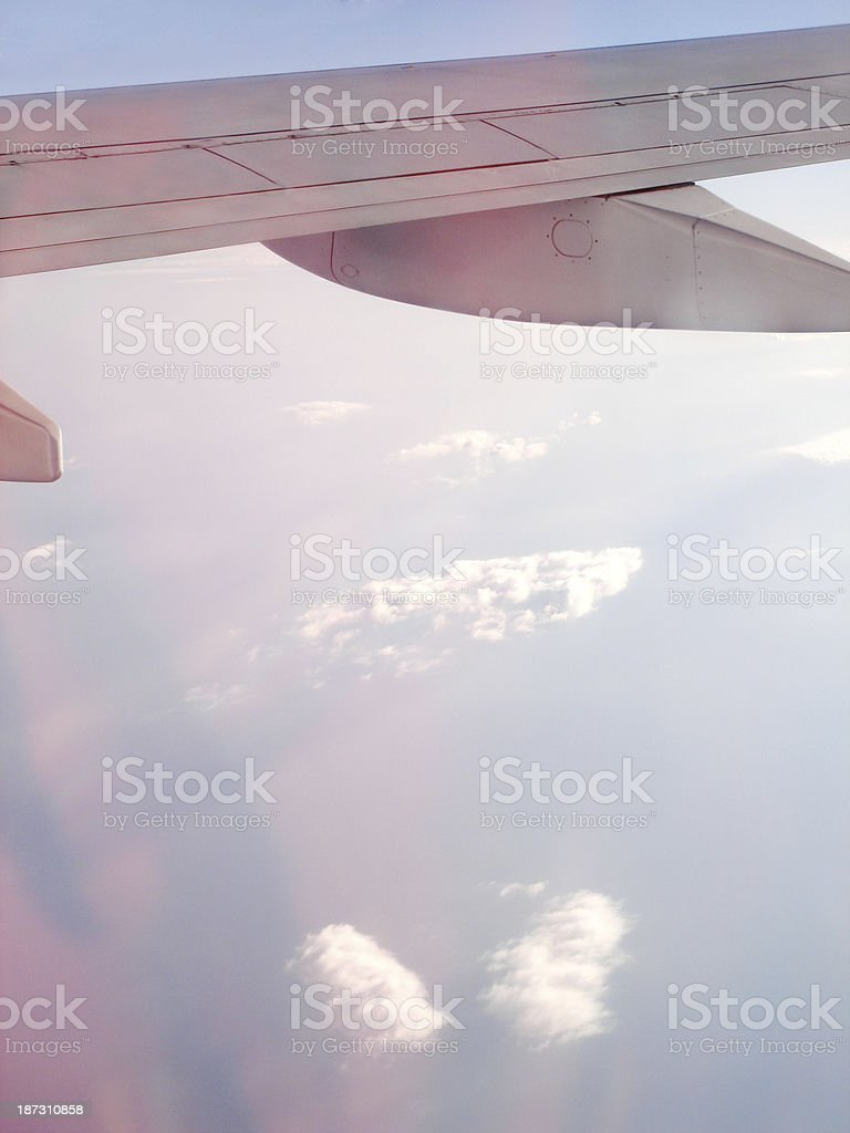 Aerial View of Clouds (Click for more) royalty-free stock photo