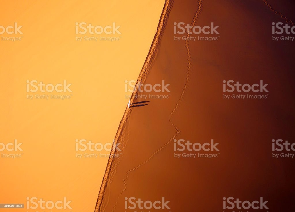 Aerial View of Dune 45 stock photo