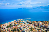 Aerial view of Palermo