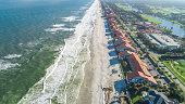 Aerial View of Ponte Vedra Beach, Jacksonville