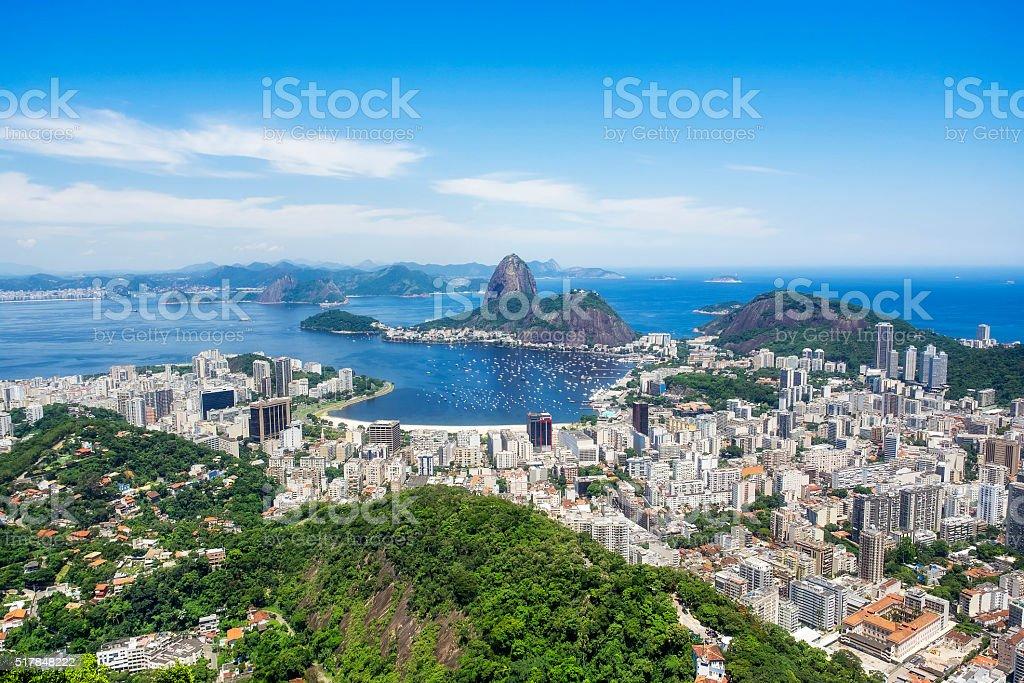 Aerial View of Rio de Janeiro, Brazil stock photo