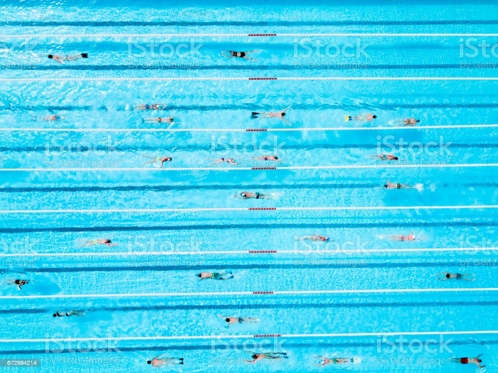 Rectangle Pool Aerial View rectangular swimming pool pictures, images and stock photos - istock