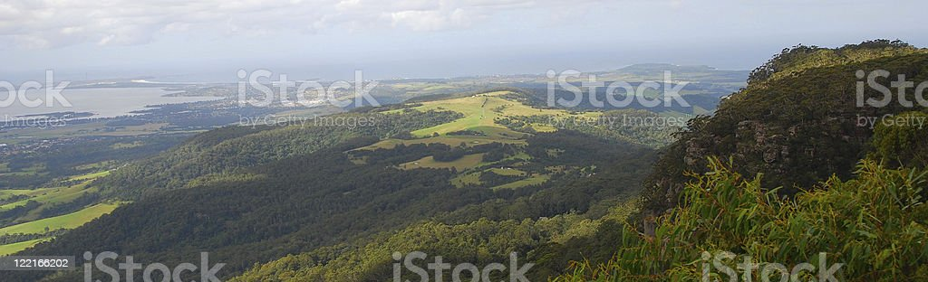 Aerial View of The Southern Highlands,NSW, Australia stock photo