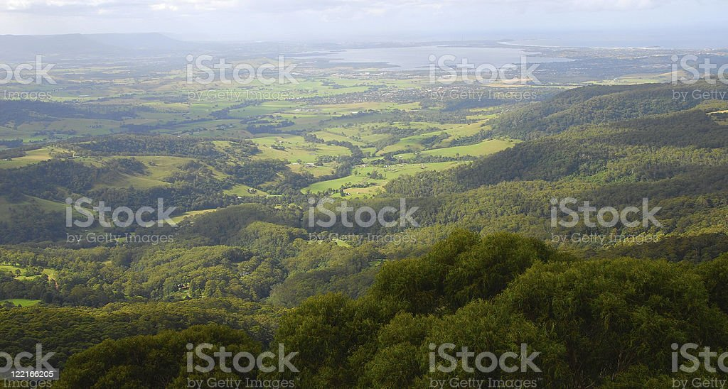 Aerial View of The Southern Highlands,NSW, Australia royalty-free stock photo