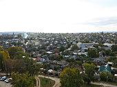 Aerial view on city Svetlovodsk, Ukraine