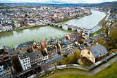 Aerial View over Namur