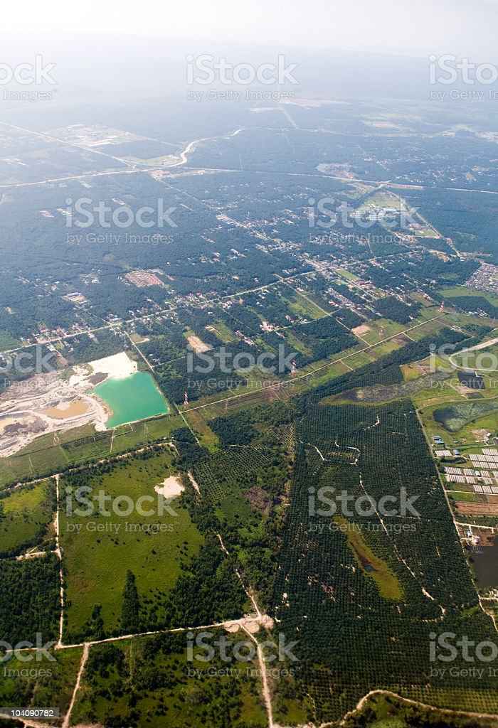 Aerial View royalty-free stock photo