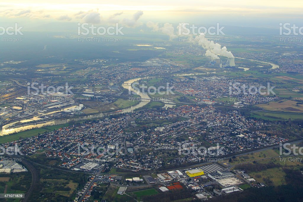 Aerial view series royalty-free stock photo
