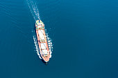 Aerial View ship