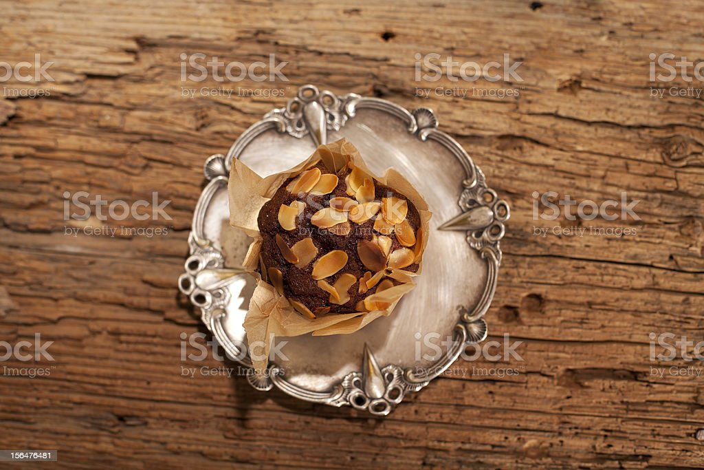 aerial view with muffin royalty-free stock photo