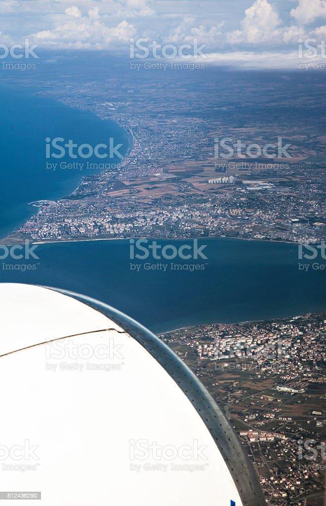 Aerial Wiev stock photo