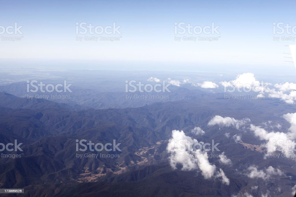 Aerial Wilderness royalty-free stock photo