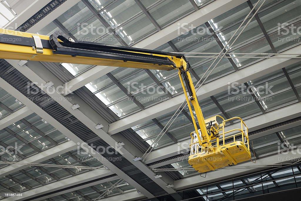 Aerial work platform royalty-free stock photo