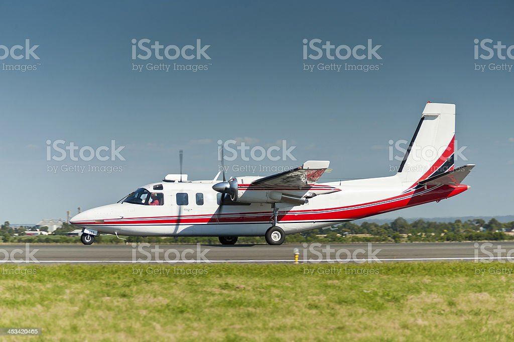 Aero Commander 690A foto royalty-free