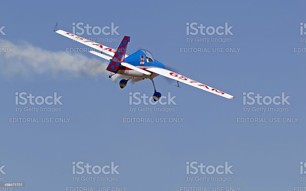 Aerobatics Single seater Vans RV-3 stock photo