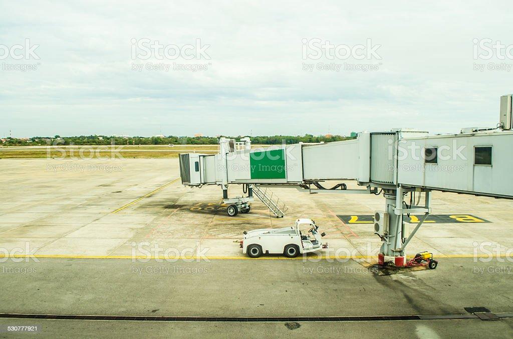 aerobridge stock photo