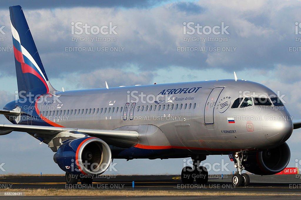 Aeroflot - Russian Airlines stock photo