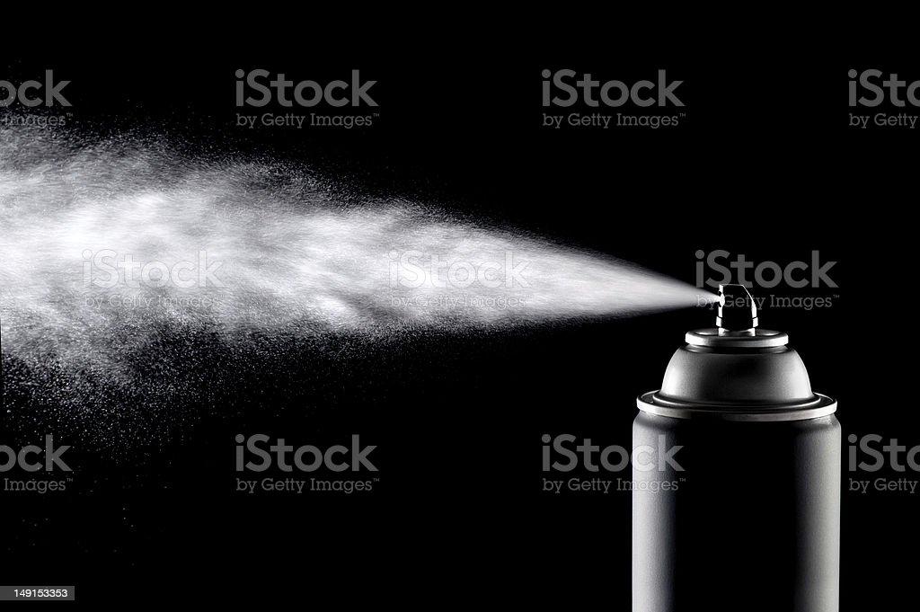 Aerolsol Spray Can stock photo