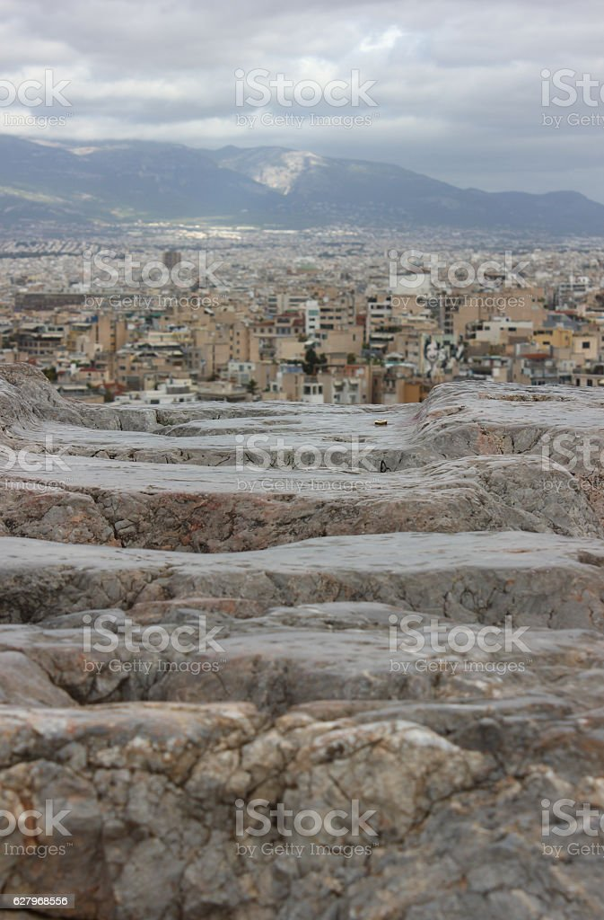 Aeropagus Hill stock photo