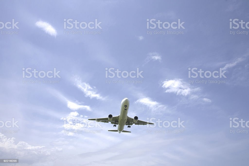 Aeroplane royalty-free stock photo