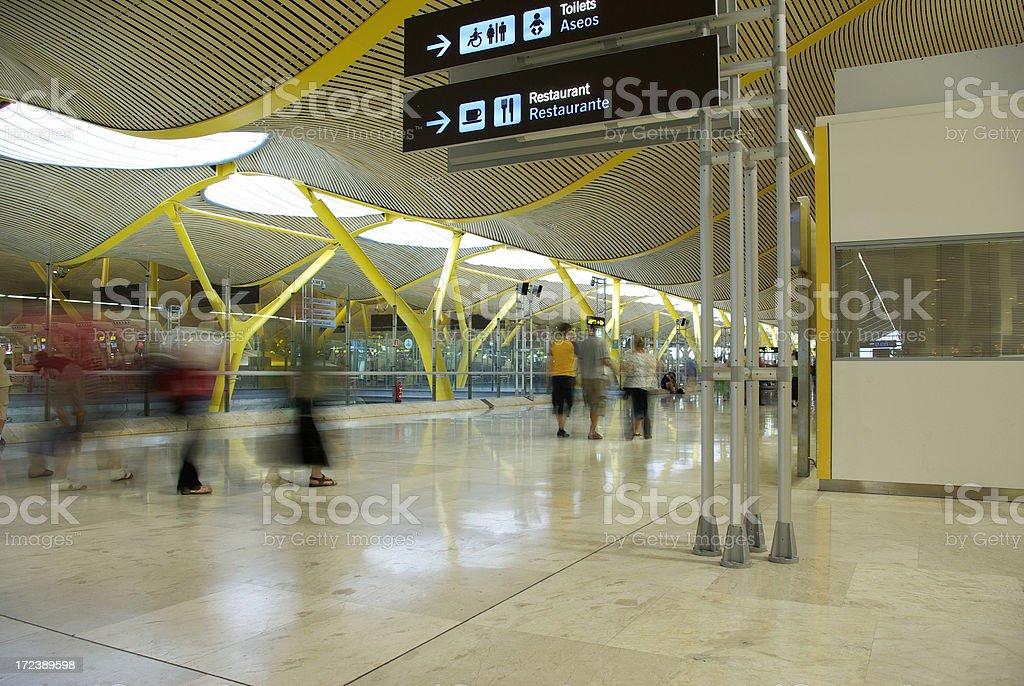 Aeropuerto royalty-free stock photo