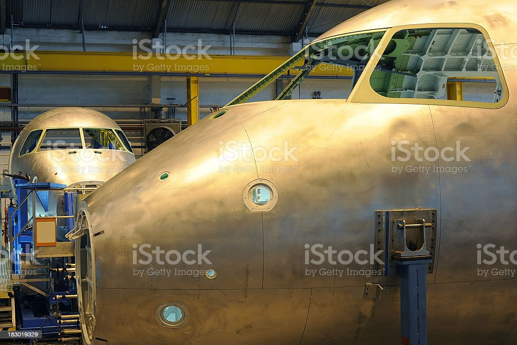 aerospace industry royalty-free stock photo