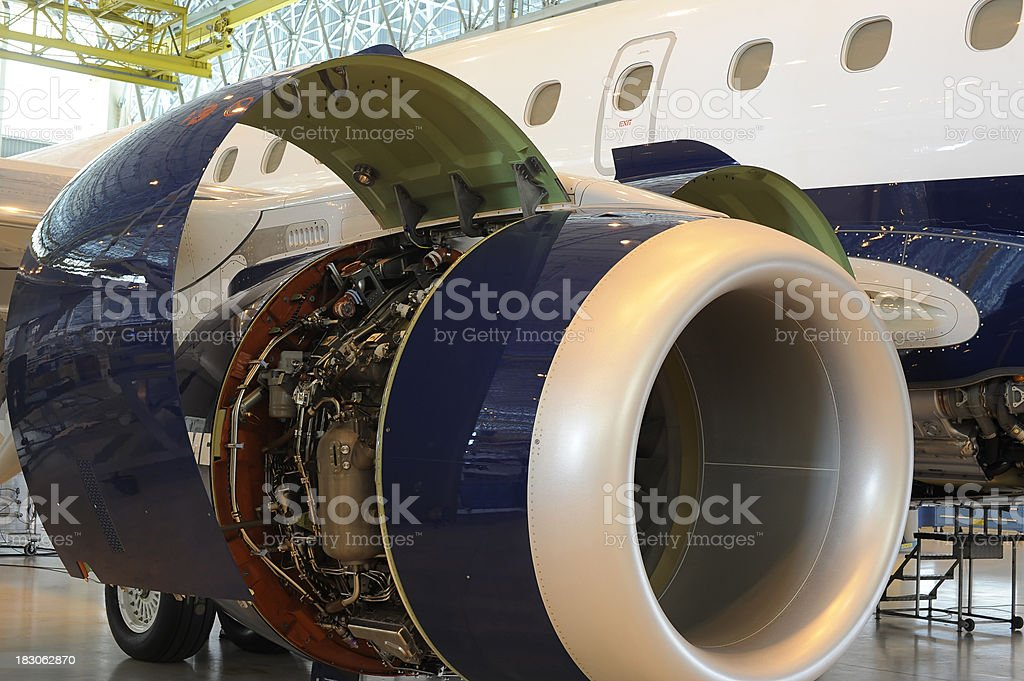 aerospace industry royalty-free stock photo