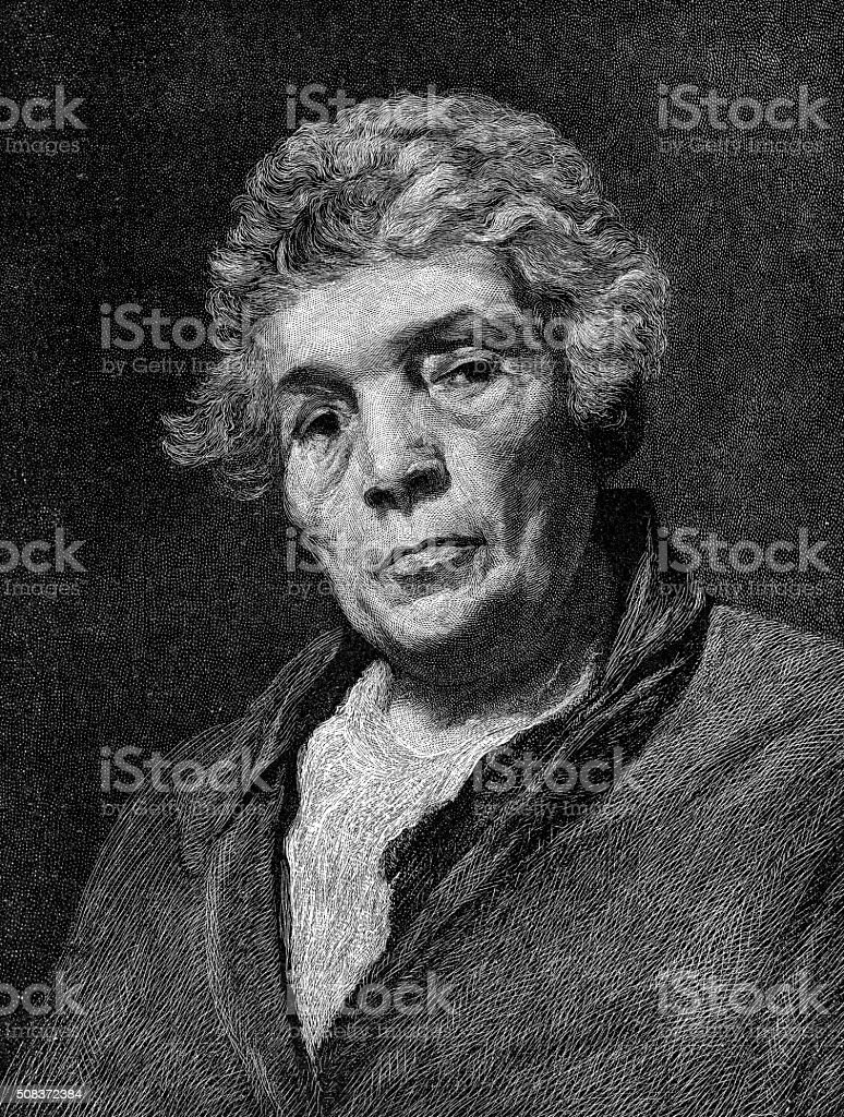 Aesop By Velazquez From 1640 stock photo