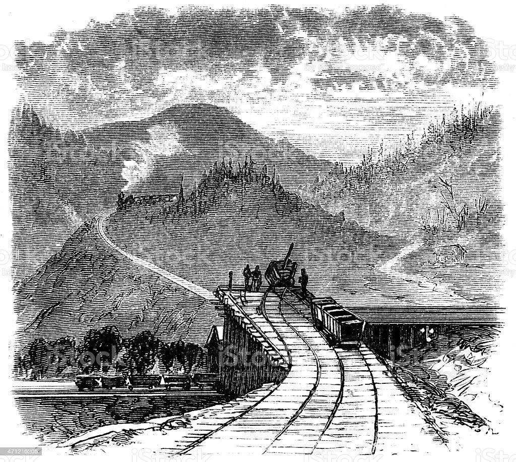 Aetna Coal Mines royalty-free stock photo