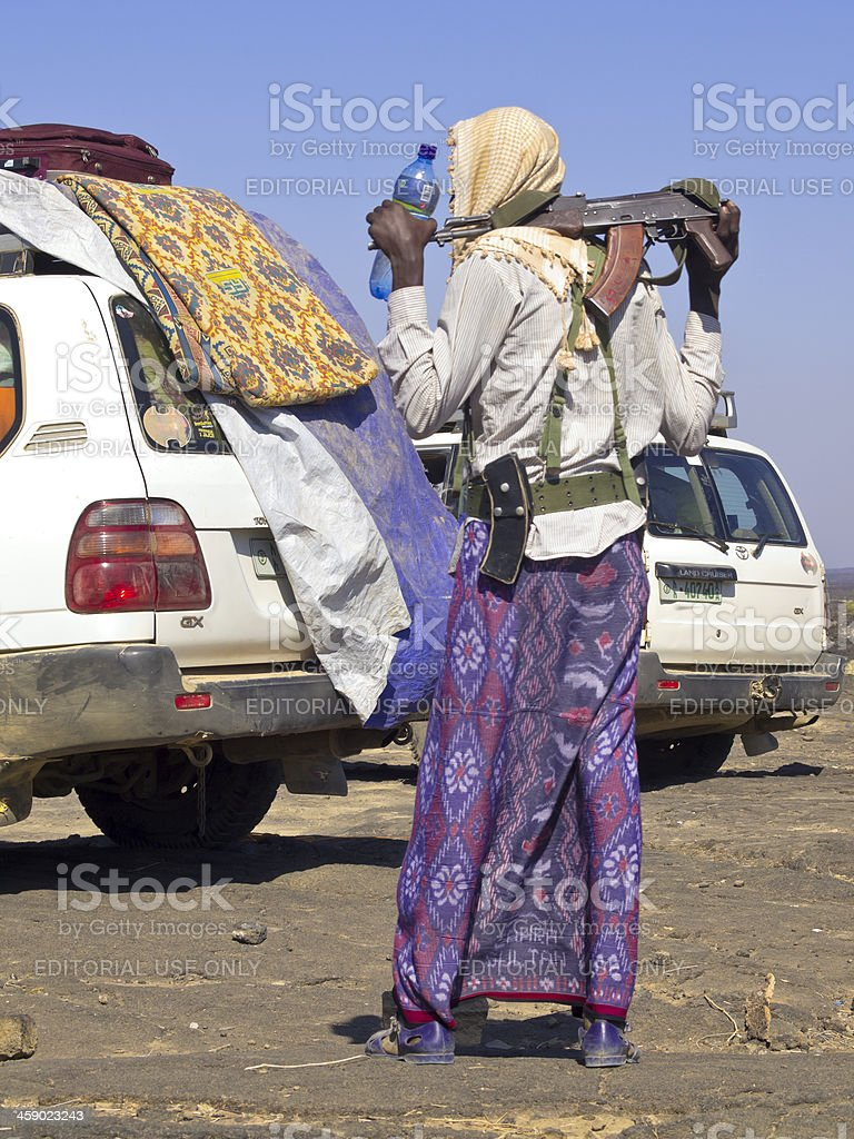 Afar Protection stock photo