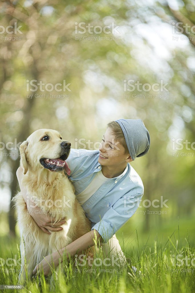 Affection royalty-free stock photo
