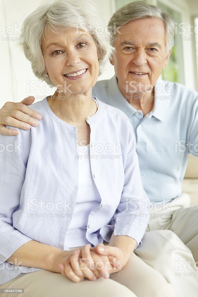 Affectionate and loving royalty-free stock photo