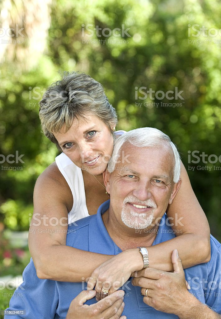 Affectionate Couple royalty-free stock photo