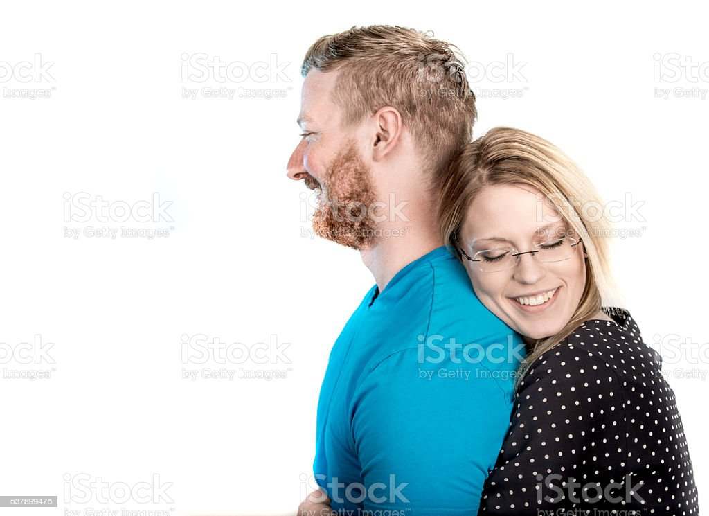 Affectionate Couple stock photo