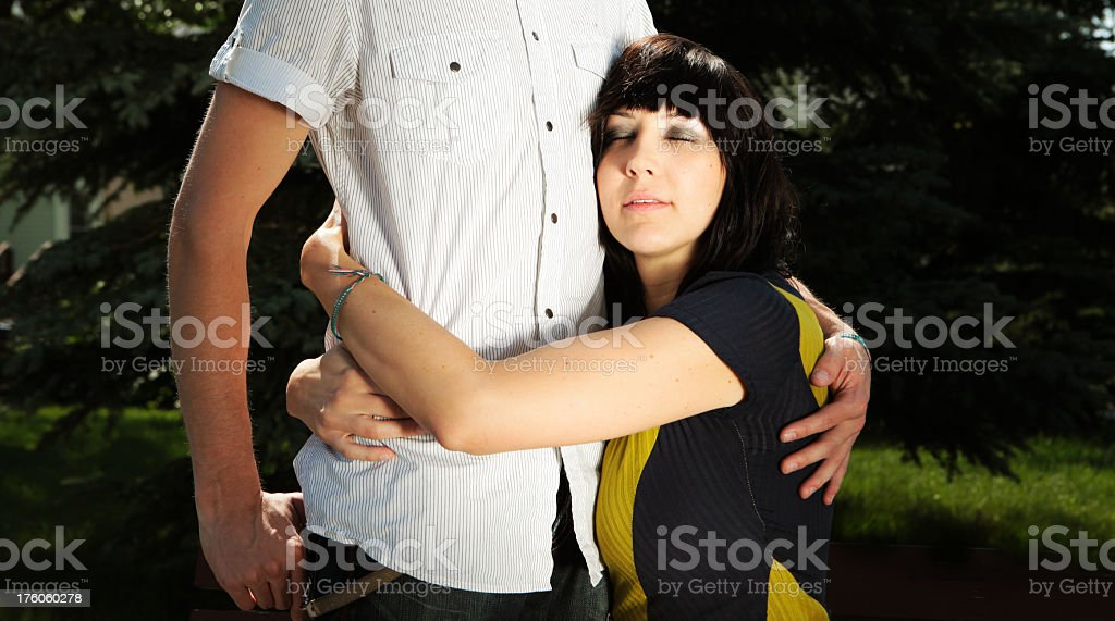 affectionate stock photo