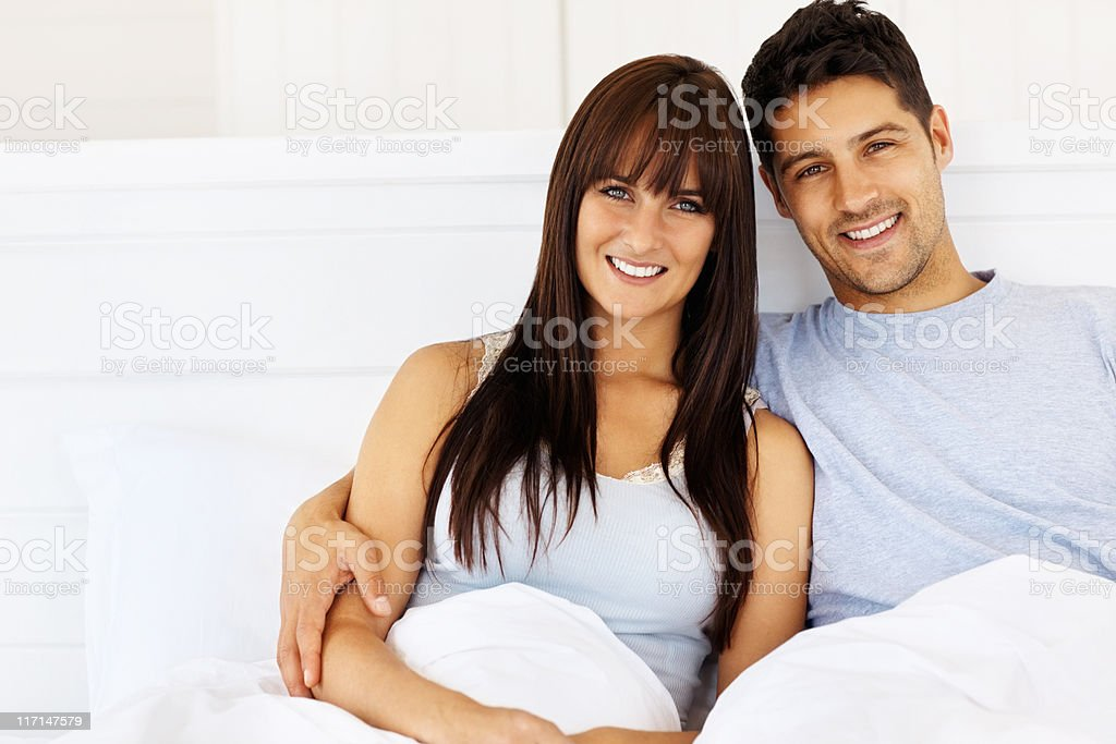 Affectionate young couple royalty-free stock photo