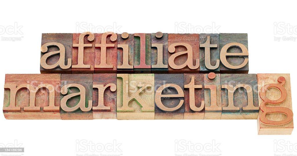 affiliate marketing royalty-free stock photo