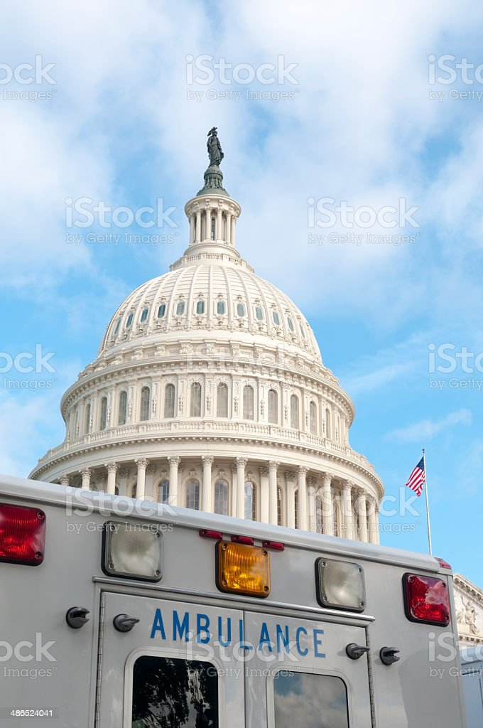 Affordable Care Act concept image stock photo