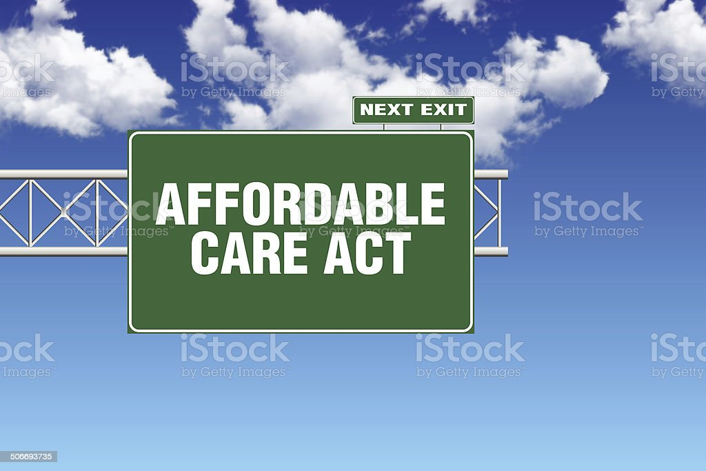 Affordable Care Act stock photo