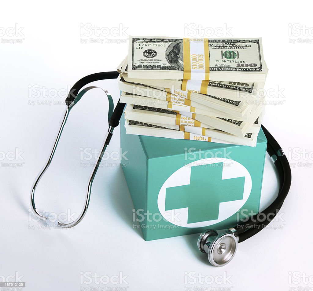Affordable Health Care royalty-free stock photo