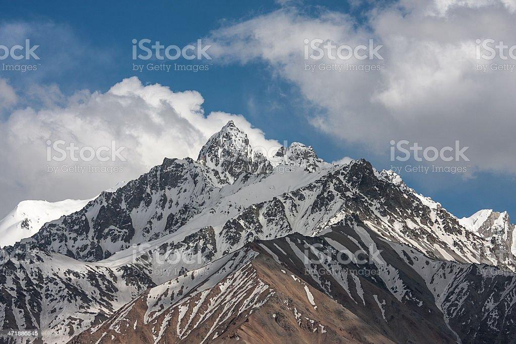 Afghan Hindu Kush royalty-free stock photo