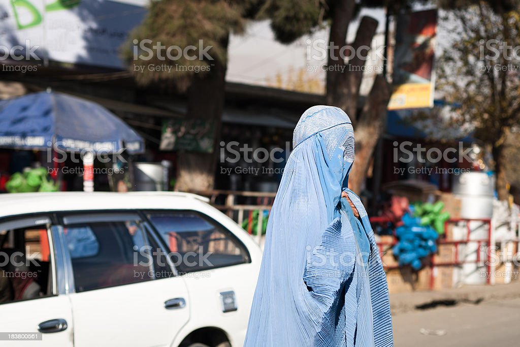 Afghan Woman stock photo