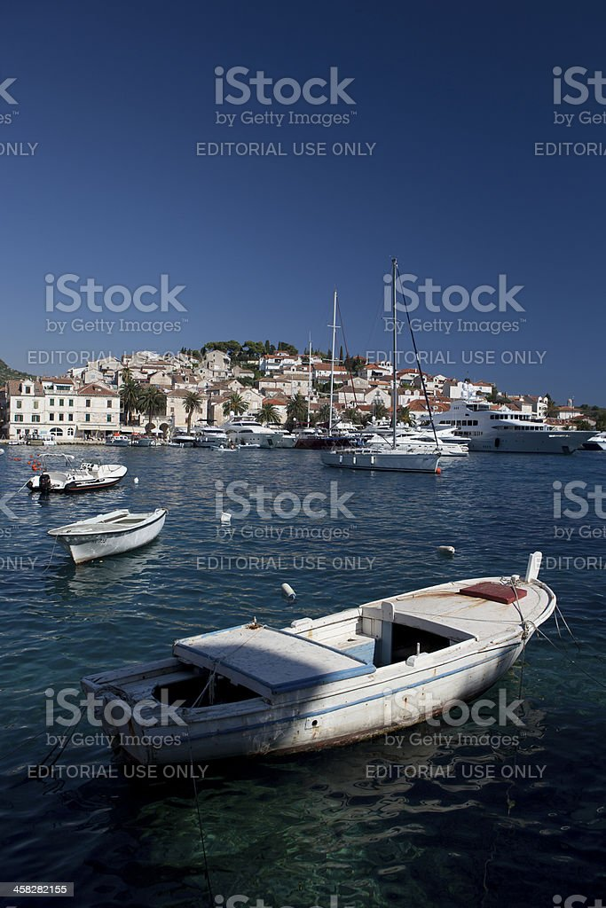 Afloat royalty-free stock photo
