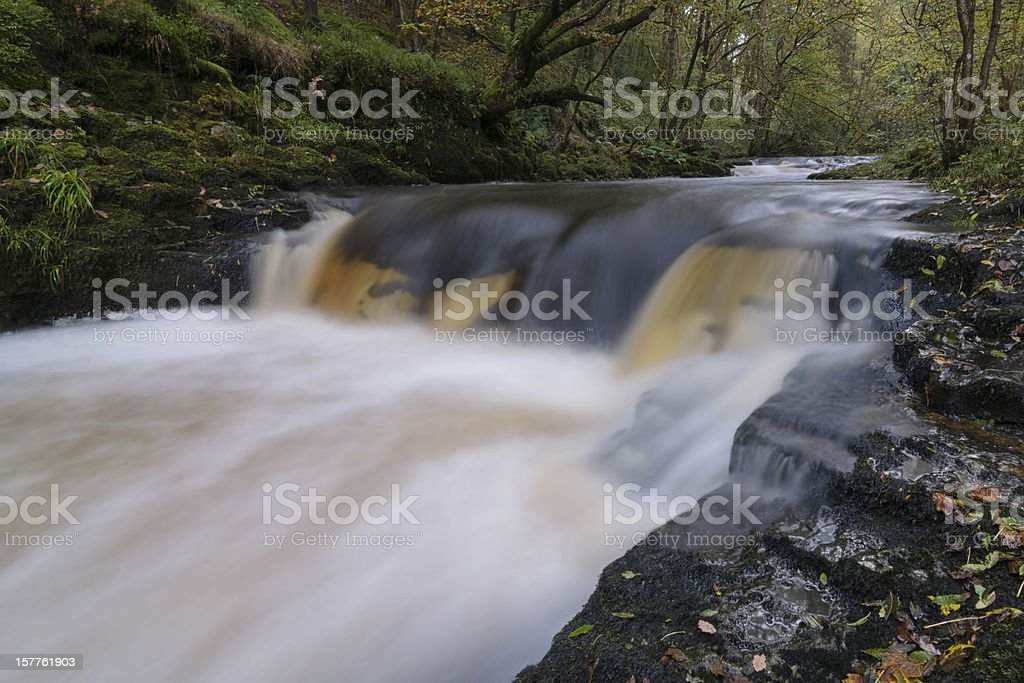 Afon Mellte stock photo
