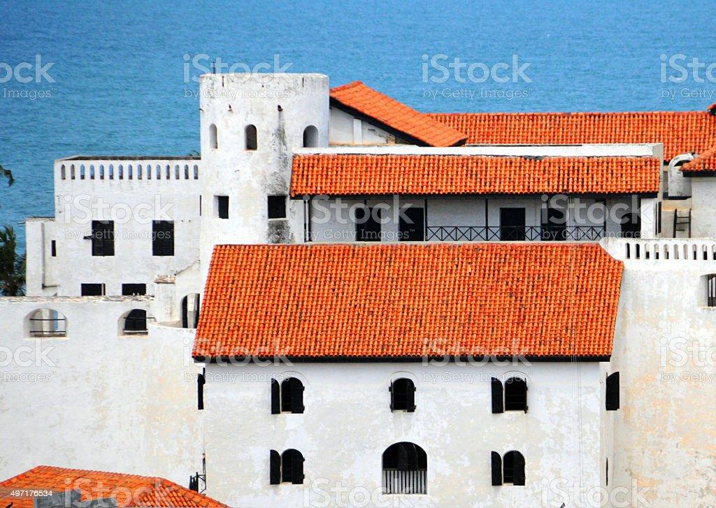 Africa: Elmina Castle, Ghana - transatlantic slave trade stock photo