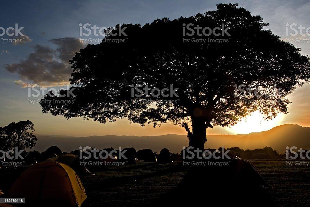 africa landscape ngorongoro stock photo
