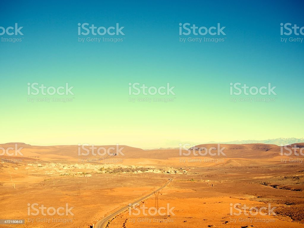 africa marocco sahara royalty-free stock photo