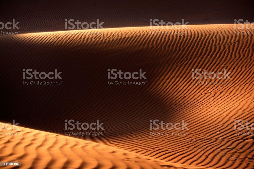 アフリカ、ナミビア砂漠 ロイヤリティフリーストックフォト