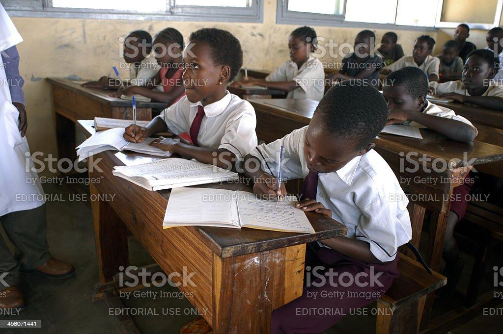 africa school stock photo